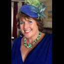 Royal Blue & Neon Green - Sister of the Groom