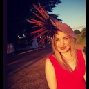 Gorgeous & Glorious 'Ember Glow' Feather Headpiece