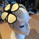 Gorgeous & Glorious Sherbet Silk Padded Hairband & Flower